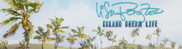 Island Dream Life - Tropical Paradise Paintings