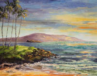 Ulua Beach Sunset Maui