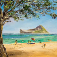 Waimanalo Beach Time