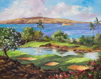 Wailea Morning Tee